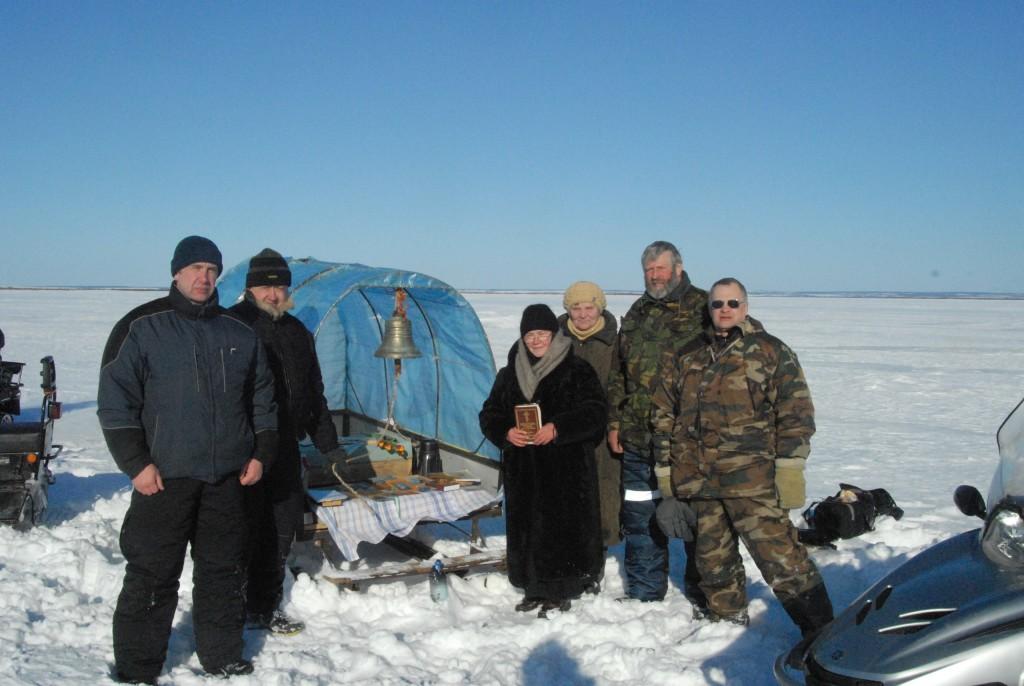 16 марта 2011 Леушинский остров